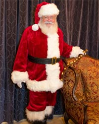 santa claus picture 2016 chair