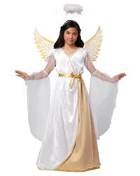 kids angel costume with wings